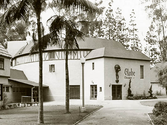 San Diego Old Globe Theatre in 1941