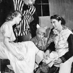 A scene from San Diego Junior Theatre's 1949 Production of Cinderella in Loreland.