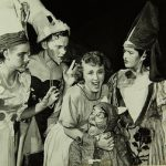 A scene from San Diego Junior Theatre's 1949 Production of Cinderella of Loreland.