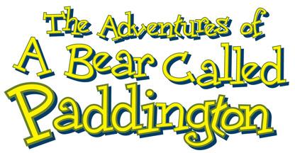 1997 The Adventures of a Bear Called Paddington logo