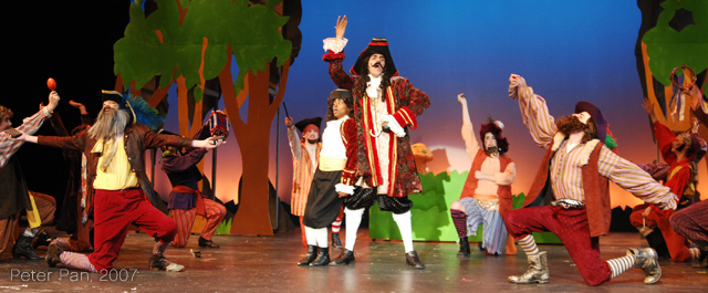 Junior Theatre's 2007 production of Peter Pan