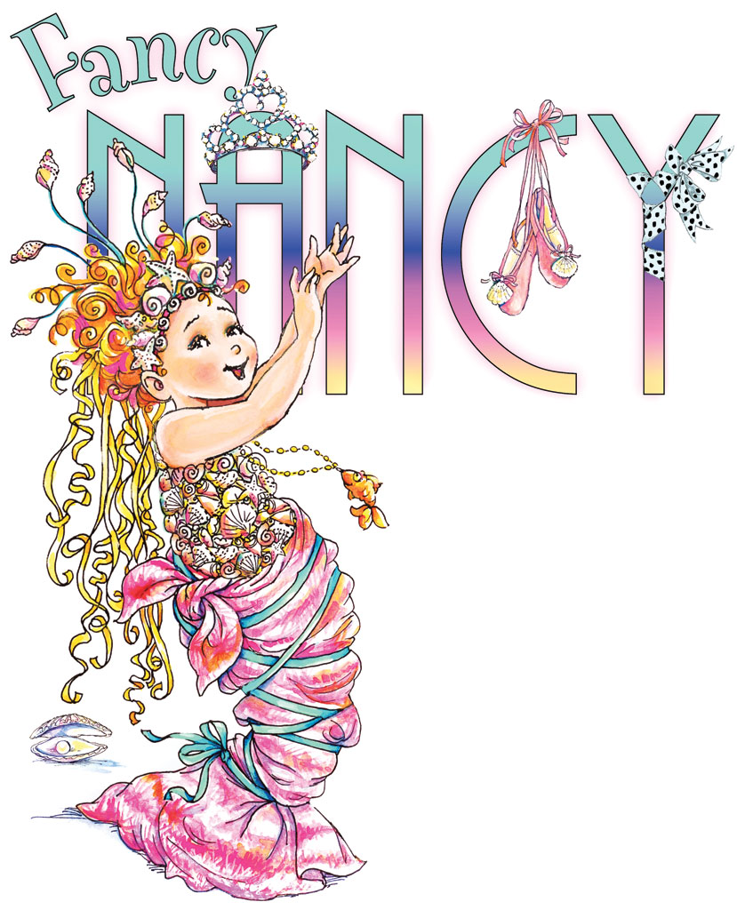 It is a picture of Nerdy Fancy Nancy Images
