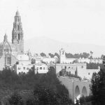 Balboa Park , in about 1945