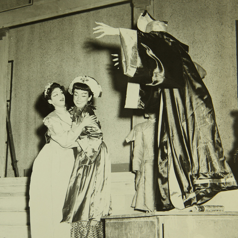 Scene from San Diego Junior Theatre's 1953 production of Marco Polo
