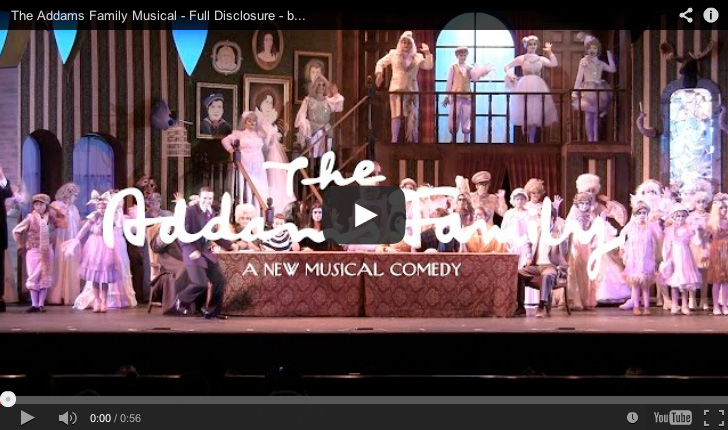Full Disclosure, from The Addams Family musical at San Diego Junior Theatre