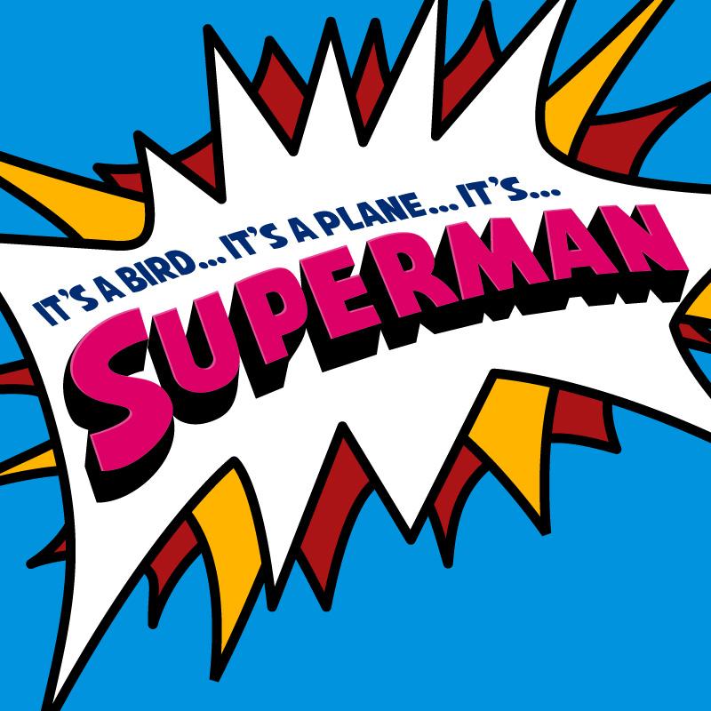 April Calendar Sayings : It s a bird plane superman san diego