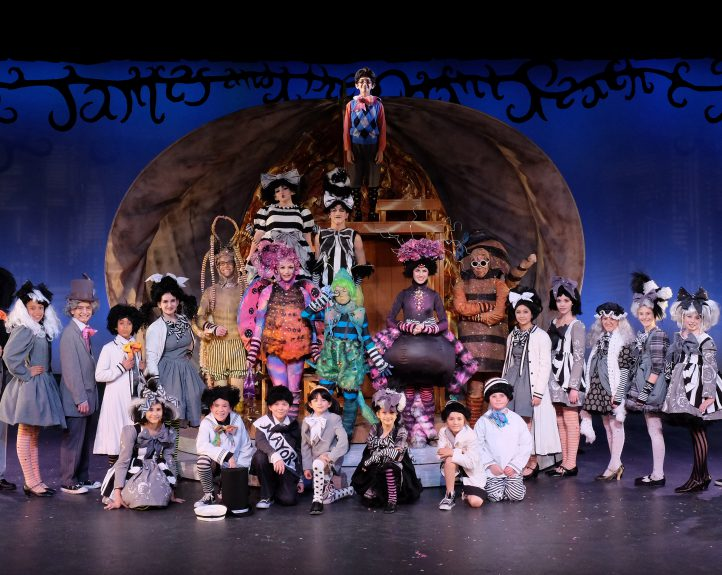 James And The Giant Peach 2014 San Diego Junior Theatre