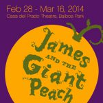 2014 James and he Giant Peach
