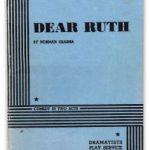 Dear Ruth Script