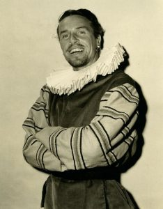 Jackson Woolley in The Taming of the Shrew, Old Globe Theatre, 1950