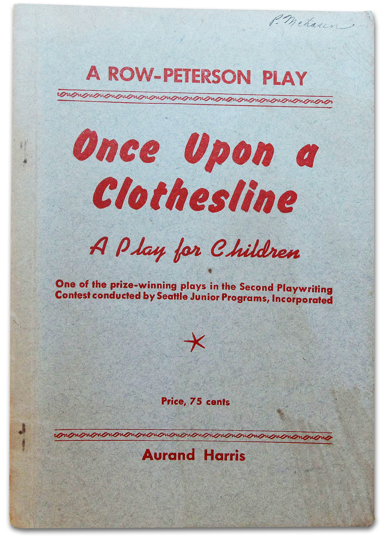 Once Upon a Clothesline