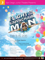 2015 Flight of the Lawnchair Man poster