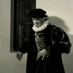 Frank Crawford, in the The Merry Wives of Windsor, Old Globe Theatre, 1951