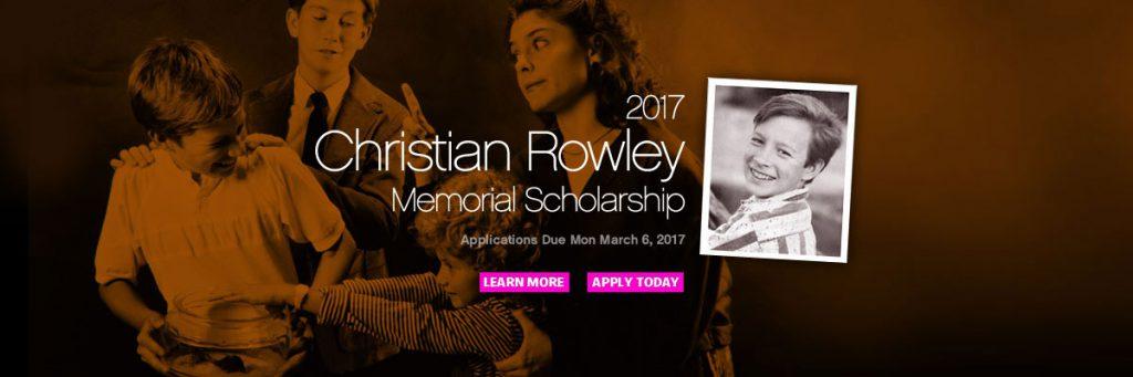 Christian Rowley Scholarship 2017