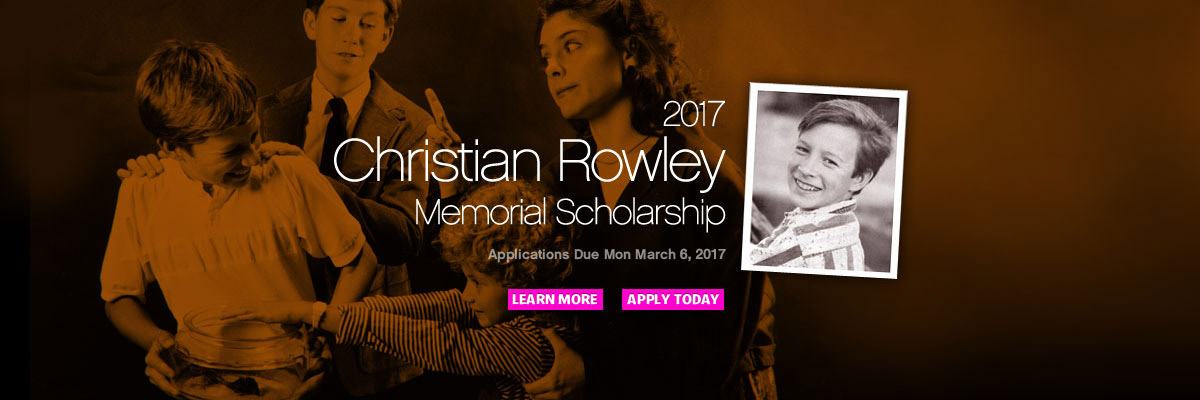 Christian Rowley Scholarship 2017