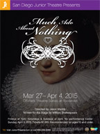 2015 Much Ado About Nothing poster