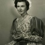 Shirlee Johnson, in The Merry Wives of Windsor, Old Globe Theatre, San Diego, 1951