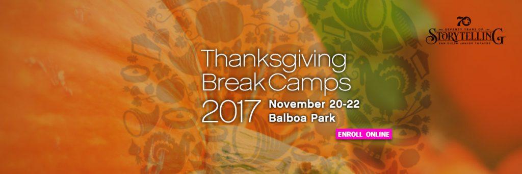 Thanksgiving Break Camp 2017