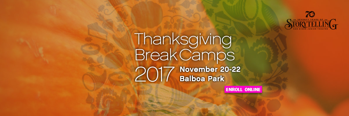 Thanksgiving Break Camp 2017