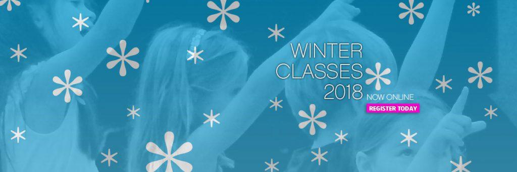 Winter 2018 Classes now online