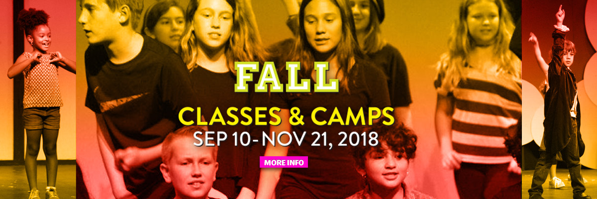 San Diego Junior Theatre Classes and Camps, Fall 2018