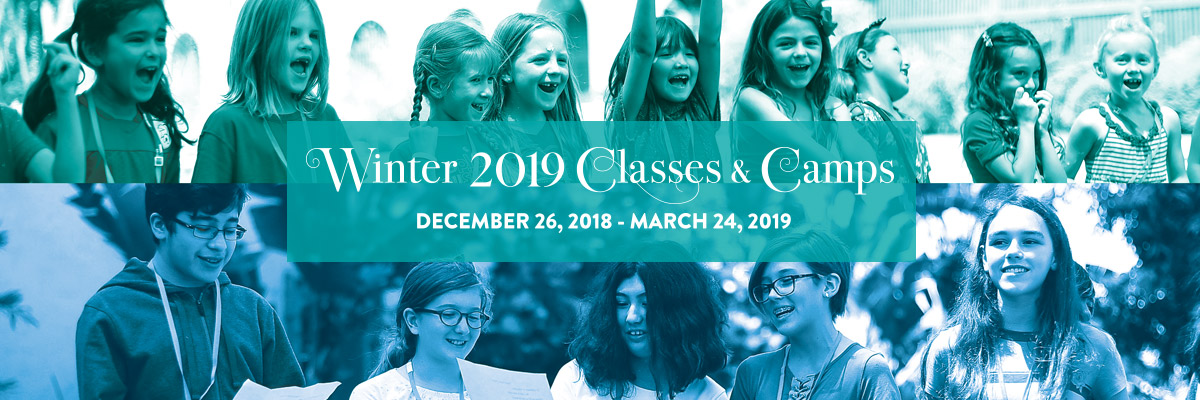 Winter 2019 Classes and Camps Online