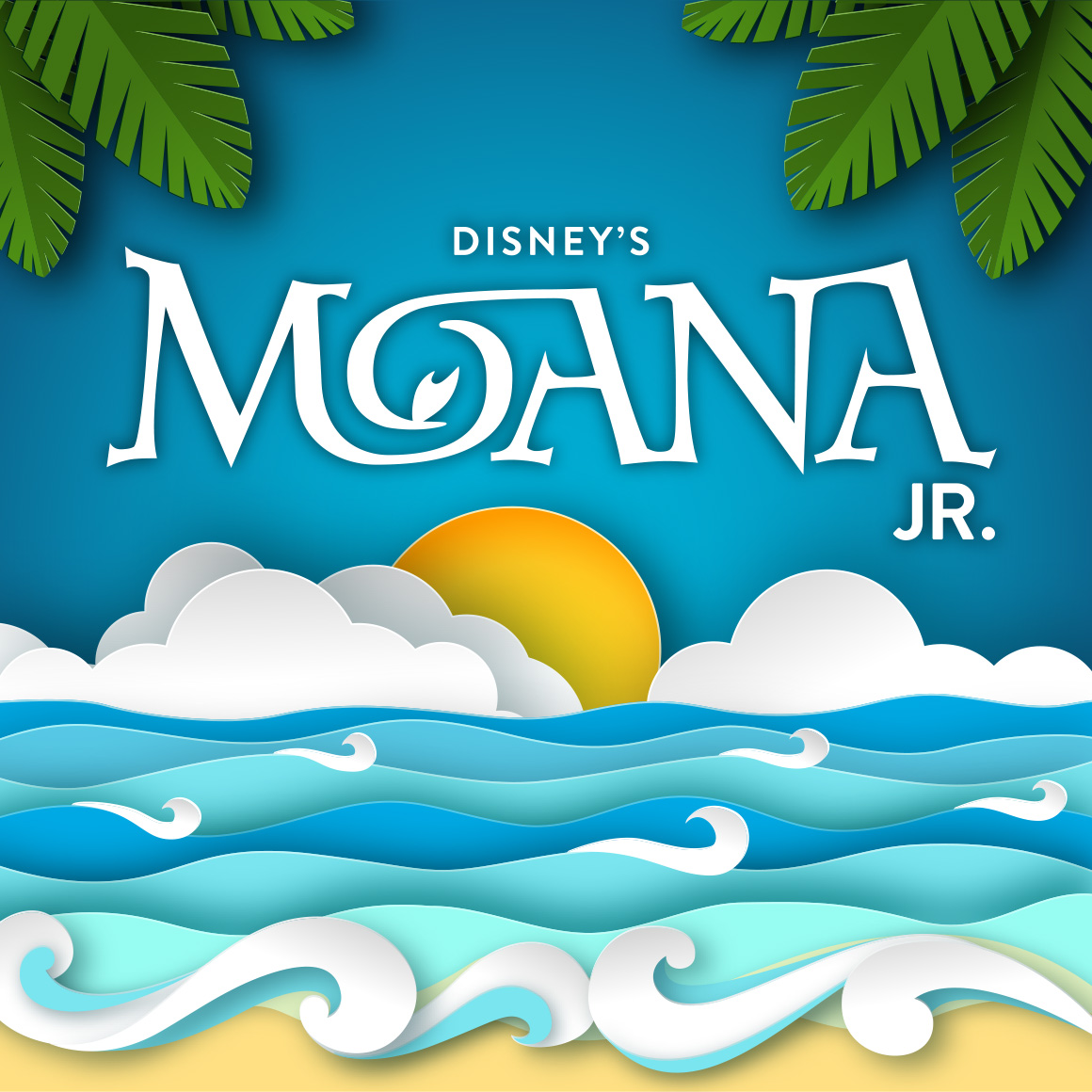 2019 Disneys Moana Jr logo