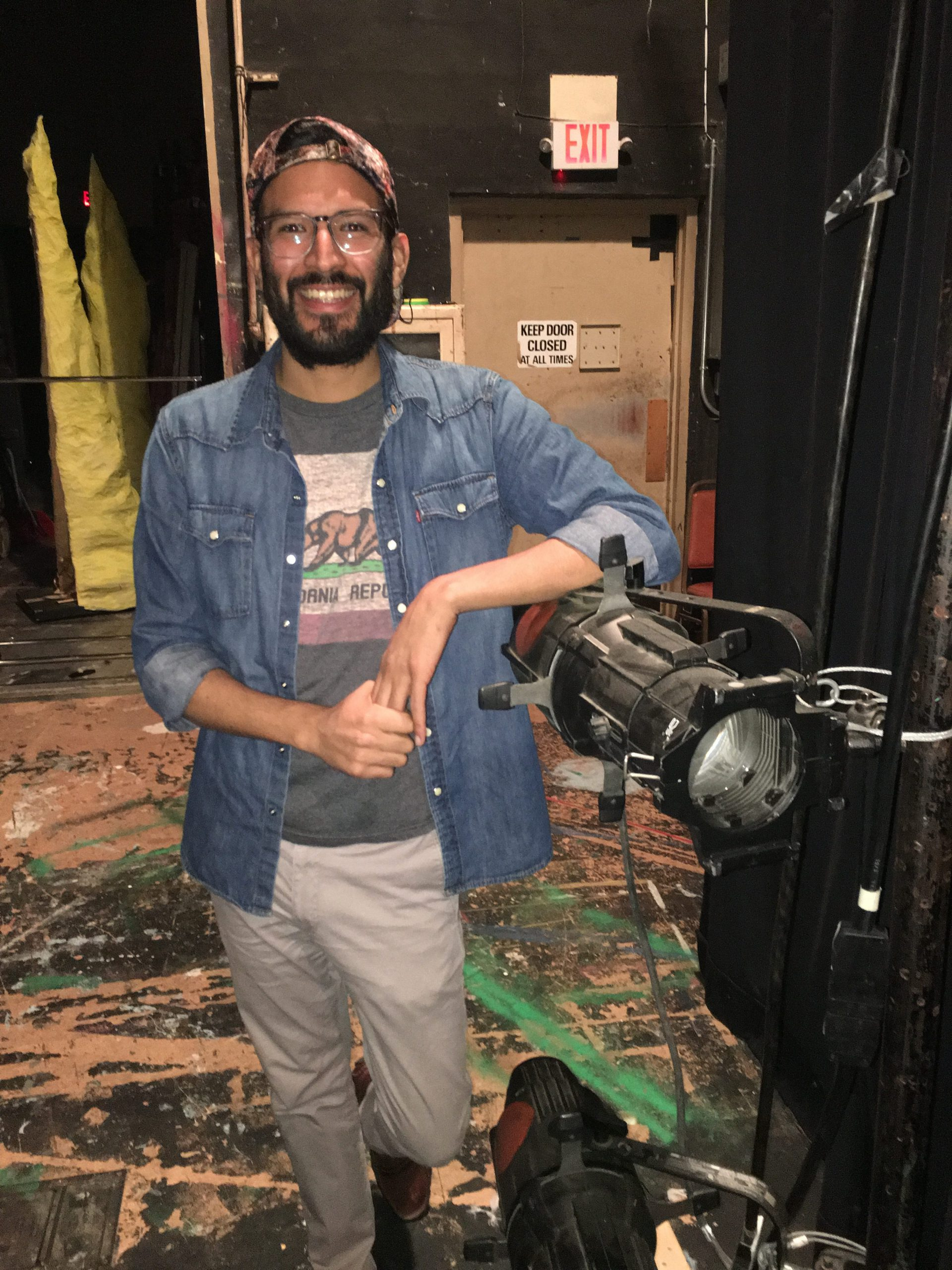 Welcome David Romero – SDJT's New Assistant Production Manager